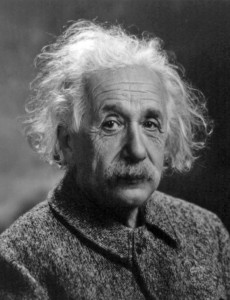 Albert Einstein, an Ashkenazim Jew