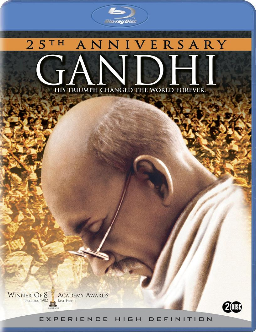 gandhi movie The film chronicles a period of conflict in south african and indian history, between whites and darker-skinned people, british and indians, and hindus and muslims gandhi is thrown off a train in south africa because his skin is dark.